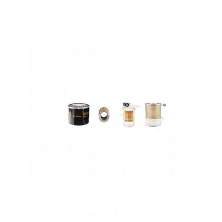 PELJOB EB12.4 Filter Service Kit w/Mitsubishi L3E Eng. Air, Oil, Fuel Filters