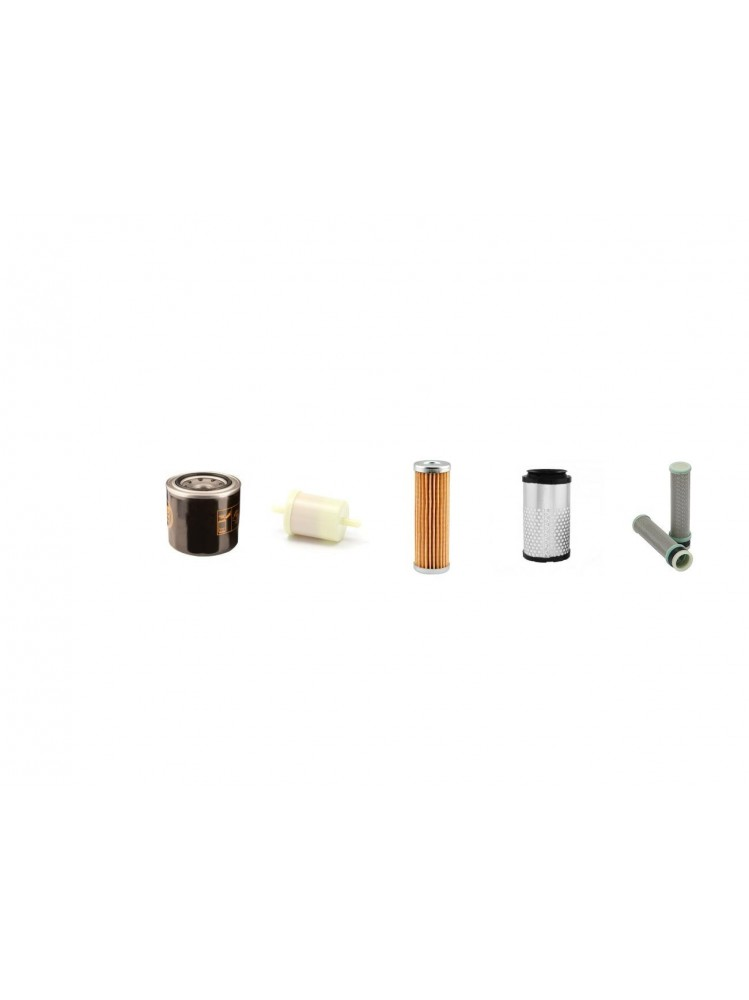 KUBOTA U 10-3 Filter Service Kit w//Kubota D 722BH6 Eng Air Oil Fuel Filters