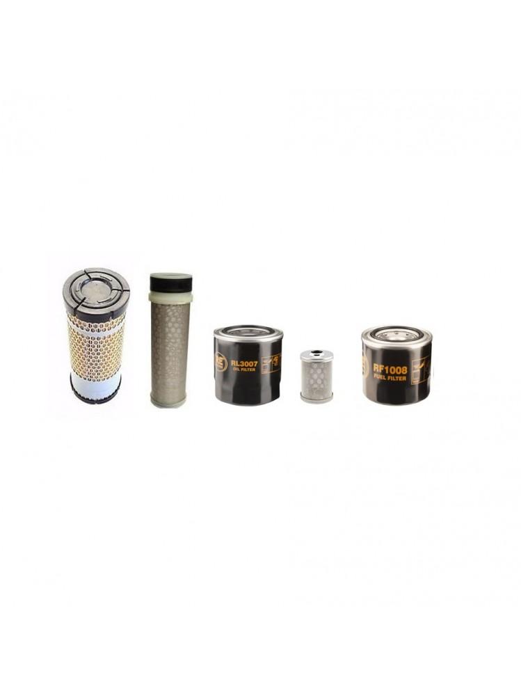 Kubota KX027-4 Filter Service Kit
