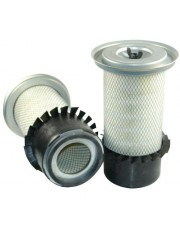 RICO RA2063, Air Filter with Fins and Lid