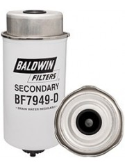 Baldwin BF7949-D, Secondary Fuel/Water Separator Element with Removable Drain