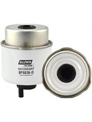 Baldwin BF9836-D, Secondary Fuel Filter Element with Drain