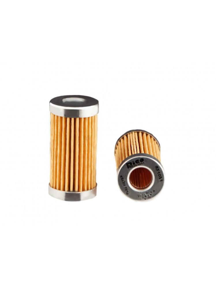 RF1051, Fuel Filter Element