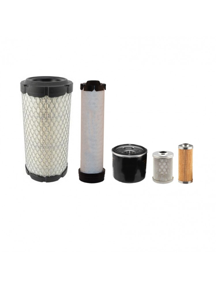 Takeuchi TB016 Filter Service Kit, Air, Oil, Fuel Filters