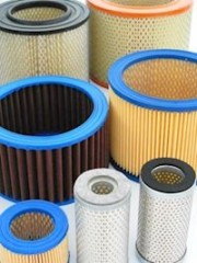 Air Filter Cartridges for Vacuum Pumps both sides open - both sides seals