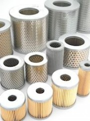 Air Filter Cartridges for Vacuum Pumps both sides open - without seal