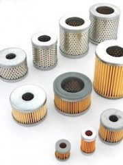 Air Filter Cartridges for Vacuum Pumps one end closed - without seal