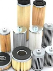 Air Filter Cartridges for Vacuum Pumps both sides open - one seal