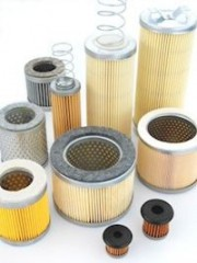 Air Filter Cartridges for Vacuum Pumps one end closed - oneseal