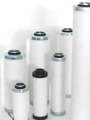 Separators for Vacuum Pumps cylindrical design with adaptor
