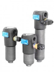 "FHP 065 max. flow rate 108 l/min. - threadG ½"" - G ¾"" operating pressure max. 420 bar"