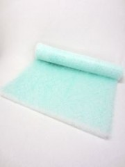 Fibreglass filter mat rolls Filter classes G2 - G4