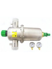 Bravomec backwash filter (mechanical) operating pressure: 10 bar - flow rate: 14000 - 35000 l/h