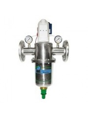 Bravomax backwash filter (automatic) operating pressure: 10bar - flow rate: 14000 - 35000 l/h