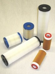 P / paper filter cartridges