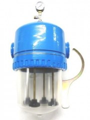 WF 14 - Housing: 4-way filter housing Operating pressure: 10 bar - Flow rate: 12,000-18,000 l / h + spare parts