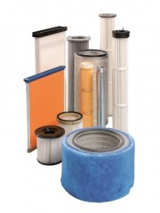 Dust filter cartridges