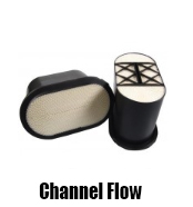 Channel Flow Air Filters