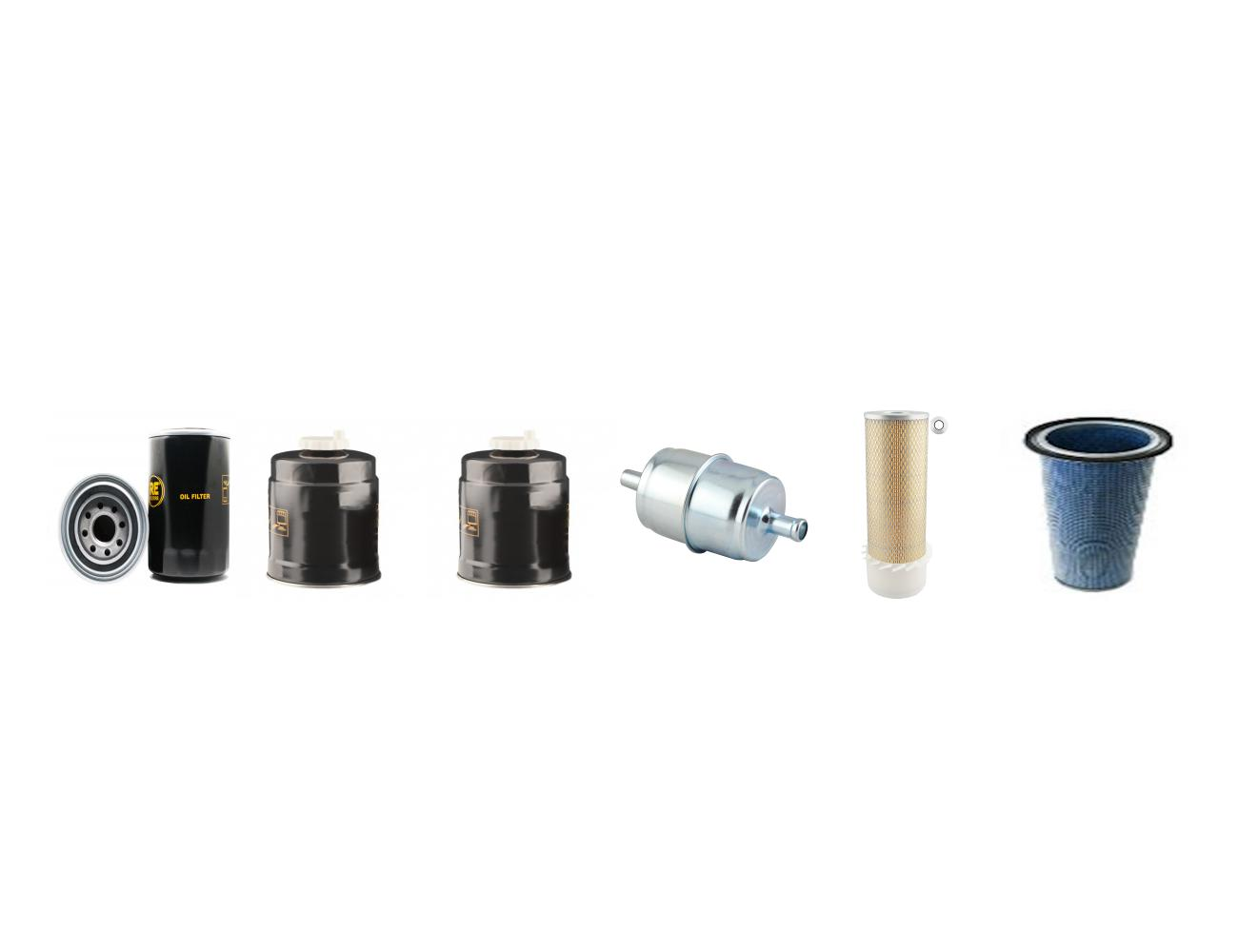 CASE 580 G Filter Service Kit Air Oil Fuel Filters w//CASE 219 Eng.